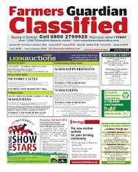 farmers guardian classifieds may 24th 2013 by briefing media ltd