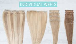 individual extensions the difference between sets and individual wefts hair