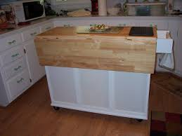 kitchen utility cart kitchen work table cart with bamboo top