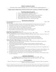 Examples Of Medical Resumes Event Security Guard Cover Letter