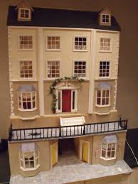 for sale georgian country dolls house with basement the dolls