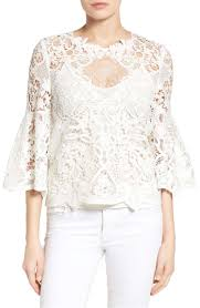 white lace blouses boho lace blouses on trend for summer 2017 and beyond