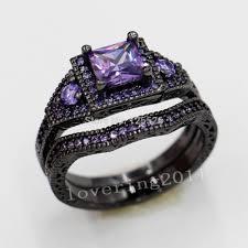 Purple Wedding Rings by Wedding Rings Black Diamond Wedding Rings Wedding Bands Men
