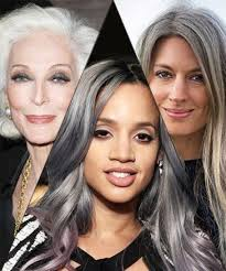 grey streaks in hair how to dye my hair grey to get the salt and pepper look quora