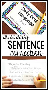 the 25 best daily oral language 4th grade ideas on pinterest