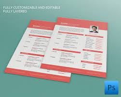 creative resume template u2013 81 free samples examples format