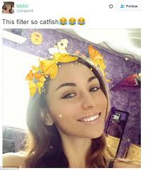 snapchat users react with glee to a butterfly lens filter that