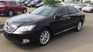 Lexus Certified Pre Owned Black 2012 Es 350 Fwd Navigation
