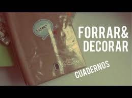 como forrar un cuaderno con tela youtube tips para forrar decorar tus cuadernos regreso a clases youtube