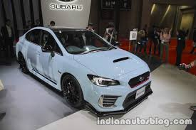subaru sports car 2017 subaru wrx sti s208 at the 2017 tokyo motor show live