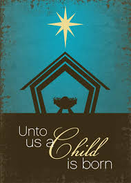 religious christmas cards a child is born child bulletin board and board