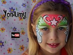 pintacaritas o face painting de frozen youtube florecita