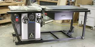 table saw mobile base delta rolls out the unisaw mobile base popular woodworking magazine