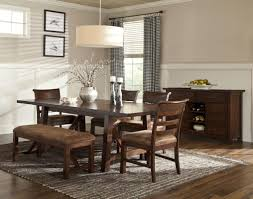 solid oak rustic canyon dining table with 4 chairs country