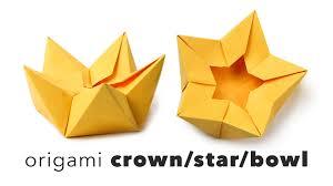 origami star flower crown tutorial diy big bang vip youtube