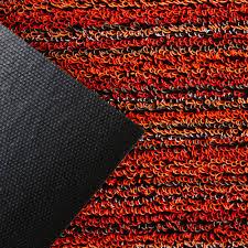 Orange Shag Rugs Buy Chilewich Skinny Stripe Shag Rug Orange Amara