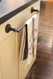 kitchen towel bar kitchen design