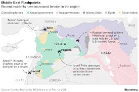 Syria Conflict Map Russian Mercenaries Israeli Airstrikes And The Bloody Future Of