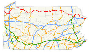 Ups Route Map by U S Route 6 In Pennsylvania Wikipedia