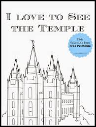 lds temple coloring pages our deseret home temple coloring sheets