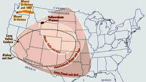 Yellowstone Map Usa by Yellowstone Supervolcano Ground Raises Ten Inches Youtube
