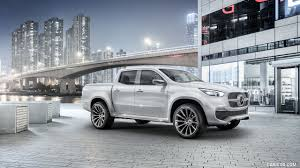 mercedes truck white 2016 mercedes benz x class pickup concept color white metallic