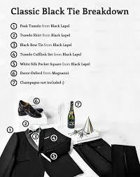 look great in a tuxedo by following the black tie rules