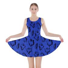 cowcow womens halloween ghost design skater dress at amazon