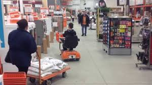 home depot scooter ride youtube