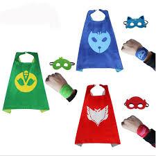 aliexpress buy pj masks cloak cape mask role play cloak cape
