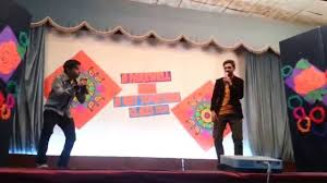 funny comedy performance on farewell party at fazaia inter college