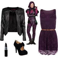 Mal Costume Disney U0027s Descendants Mal Date Costume Polyvore