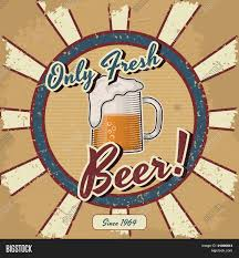 beer vector retro beer vector poster vintage vector u0026 photo bigstock