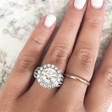 big wedding rings big engagement rings raymond jewelers