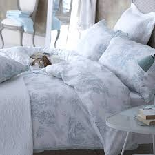 blue toile bedding saveemail dorma blue toile bed linen