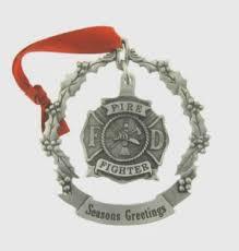 firefighter ornaments firefighter