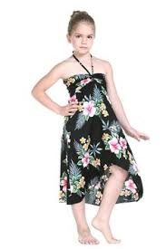 Hawaiian Halloween Costume Lovely Hawaiian Print Butterfly Dress Perfect Luaus