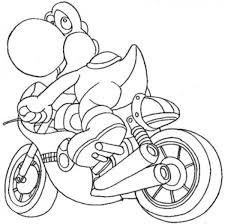 cute super mario friends yoshi coloring pages womanmate