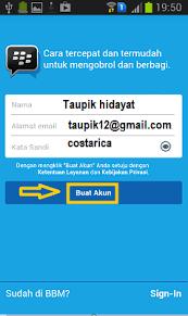 membuat akun gmail bbm serba tau buat akun bbm baru di android