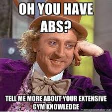 Do You Even Squat Meme - is it more important for trainers to have education or experience