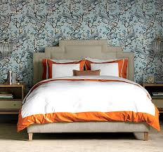 Orange And White Comforter 12 Bedding Designs For Fall