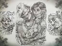 mexican tattoo flash art pictures to pin on pinterest tattooskid