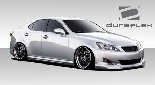 jdm lexus is350 duraflex is250 is350 i spec body kit 4 pc for lexus is series 06
