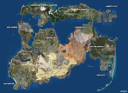 Put On The Map If All The Grand Theft Auto Worlds Existed On The Same Landmass