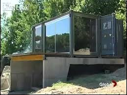 prefabricated shipping container homes amazing report 8 hour build