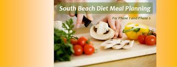 south beach diet meal planning for phase 1 and phase 2 diet plan 101