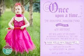 princess invitation design jellyfish prints