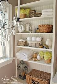 Decorate Bathroom Shelves Beautiful Decorating Ideas For Bathroom Shelves Contemporary