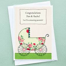 congratulations card personalised pregnancy congratulations card by arnott cards