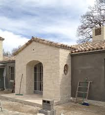 The Powder Room New Farm Patina Farm Update Tile Chimney Exterior Stucco And The Wood